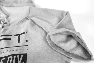Live Fit Apparel Athlete Division Hoodie - Grey - LVFT