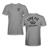 Athletic Goods Tee - Heather Grey