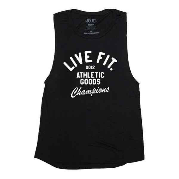 Athletic Goods Muscle Tank - Black