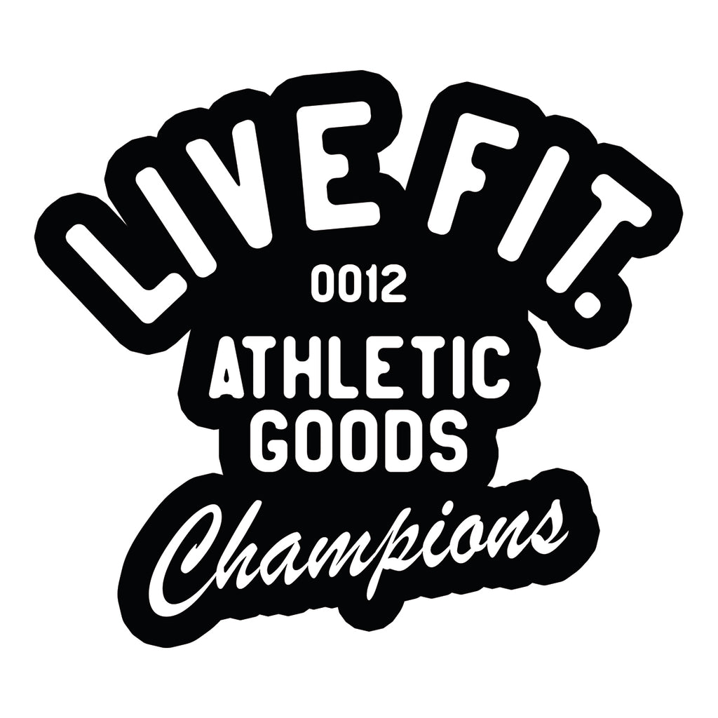 Live Fit Apparel Athletic Goods Sticker - LVFT