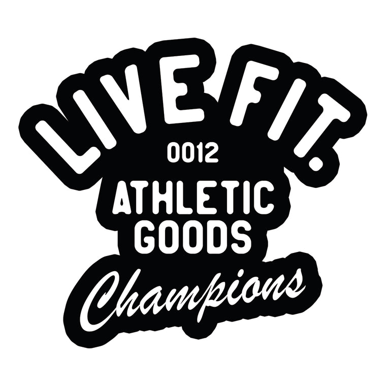 Athletic Goods Sticker