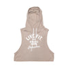 Live Fit Apparel Champions Crop Hoodie - Tan - LVFT