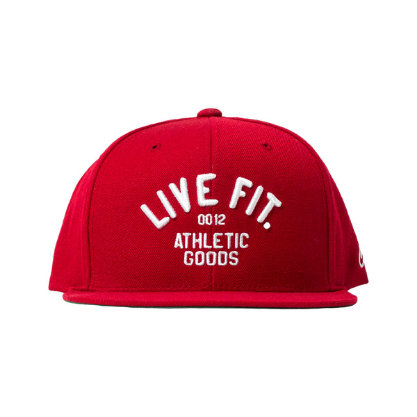 Champions Snapback - Red/White