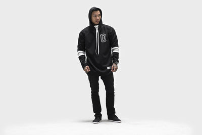 Live Fit Apparel LVFT. Hockey Jersey- Black - LVFT