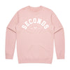 Live Fit Apparel and Afters Ice Creams BFS SECONDS CREWNECK - CORAL - LVFT