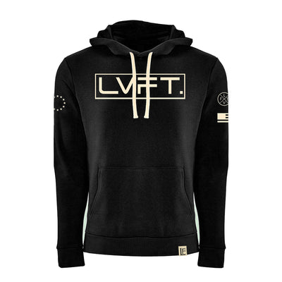 Live Fit Apparel International II Hoodie - Black - LVFT.