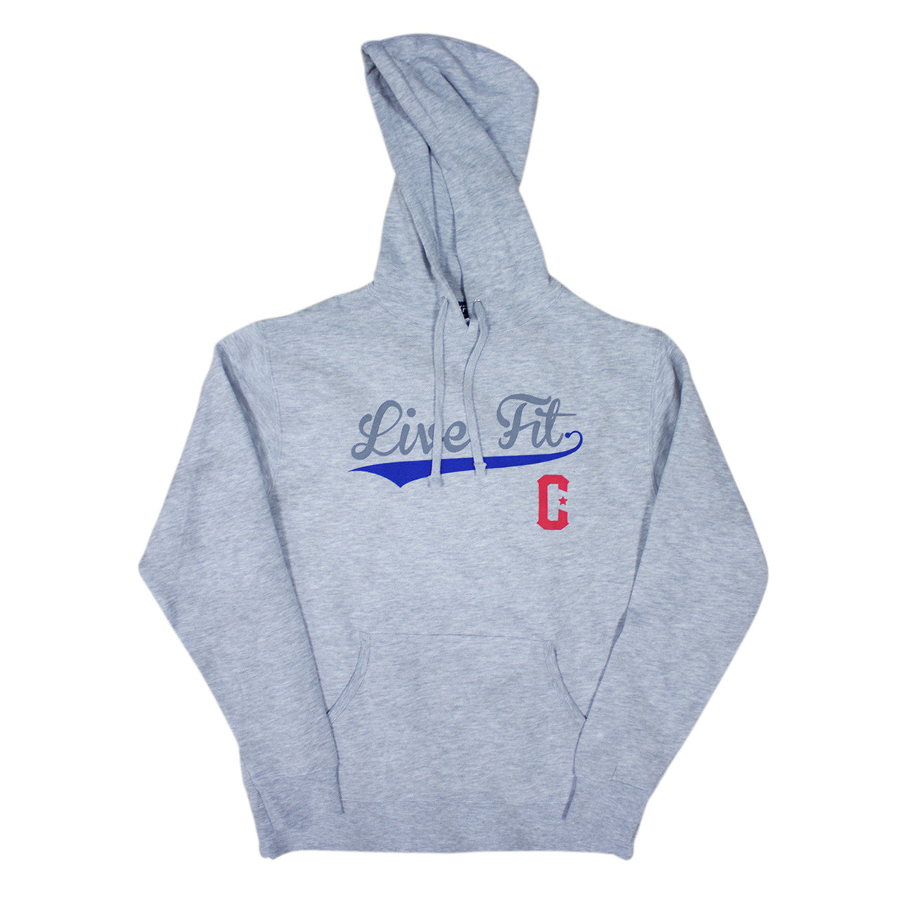 BallPark Hoodie- Heather Grey