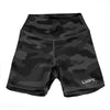 EXO Black Camo Shorts - Biker Length (long)