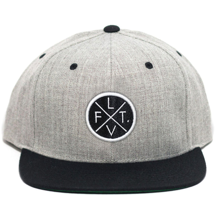 Prestige Worldwide Snapback - Heather Grey