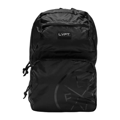 Live Fit Apparel LVFT. Packable Backpack - Black - LVFT