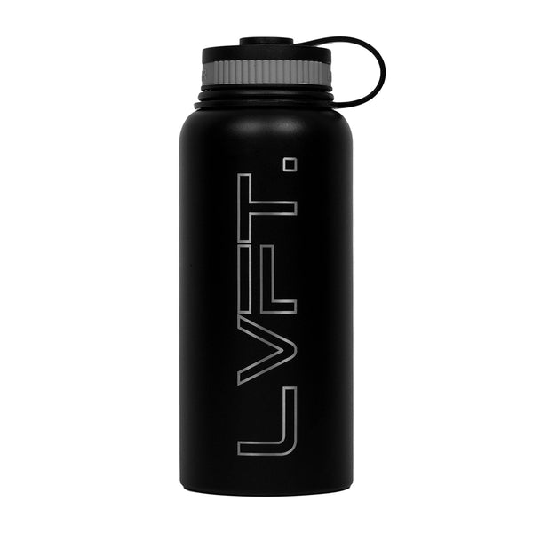 LVFT Stainless Steel Bottle - Black
