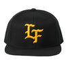 Live Fit Apparel Flagship Snapback-Black/Gold - LVFT