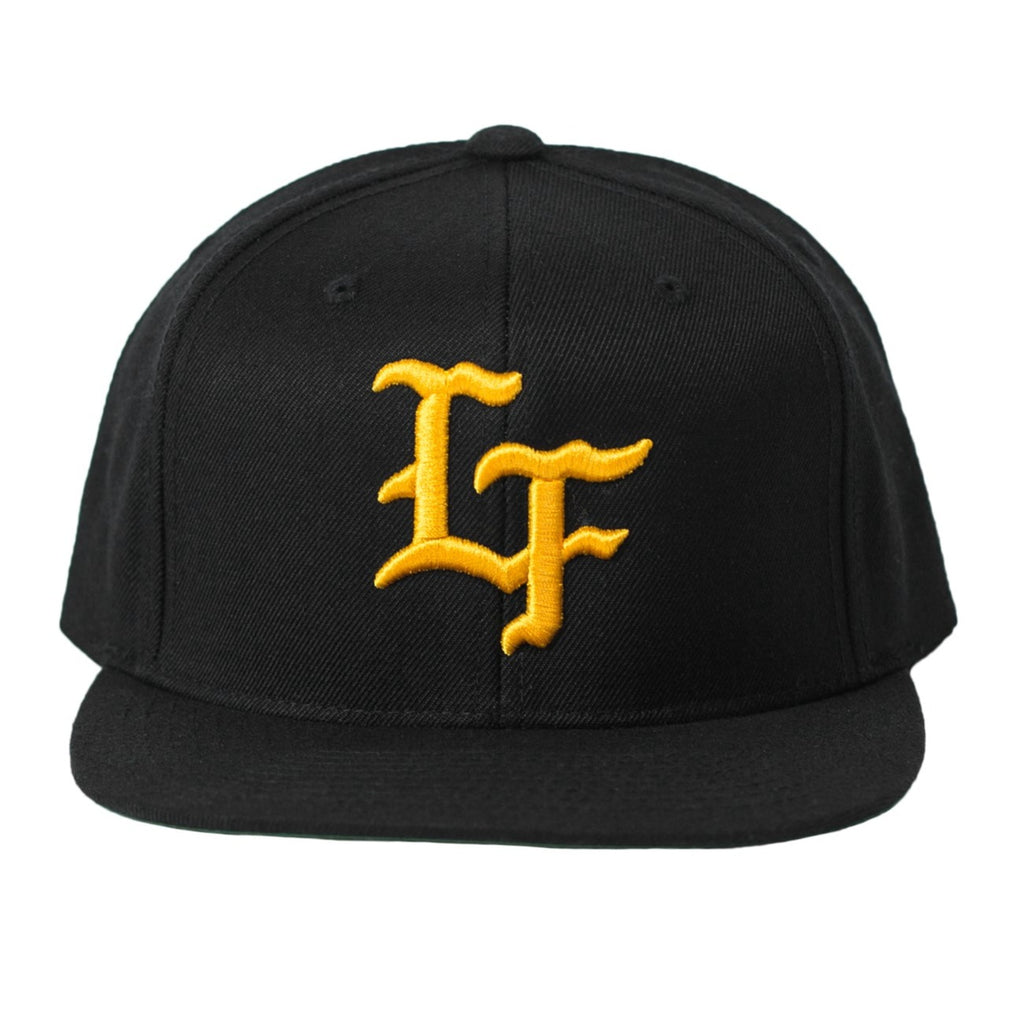 Flagship Snapback-Black/Gold
