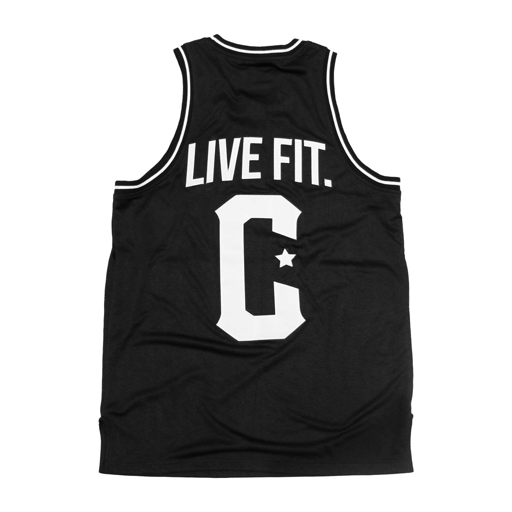 Crossover Jersey - Black / White