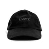 Hyper Reflective Dad Cap - Black on Black