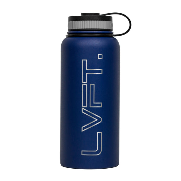 LVFT Stainless Steel Bottle - Blue