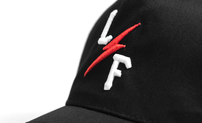 Bolt Cap - Black / Red