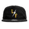 Surf Bolt Cap - Black