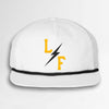 Surf Bolt Cap - White