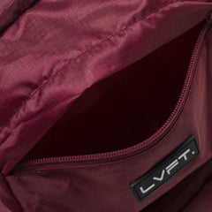 LVFT. Packable Backpack - Maroon