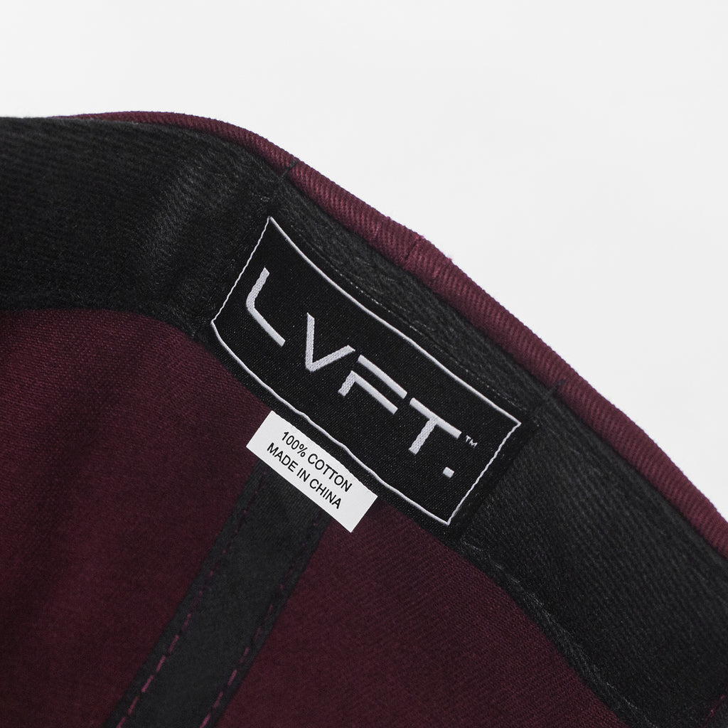 Premium Structured LVFT. Cap - Burgundy