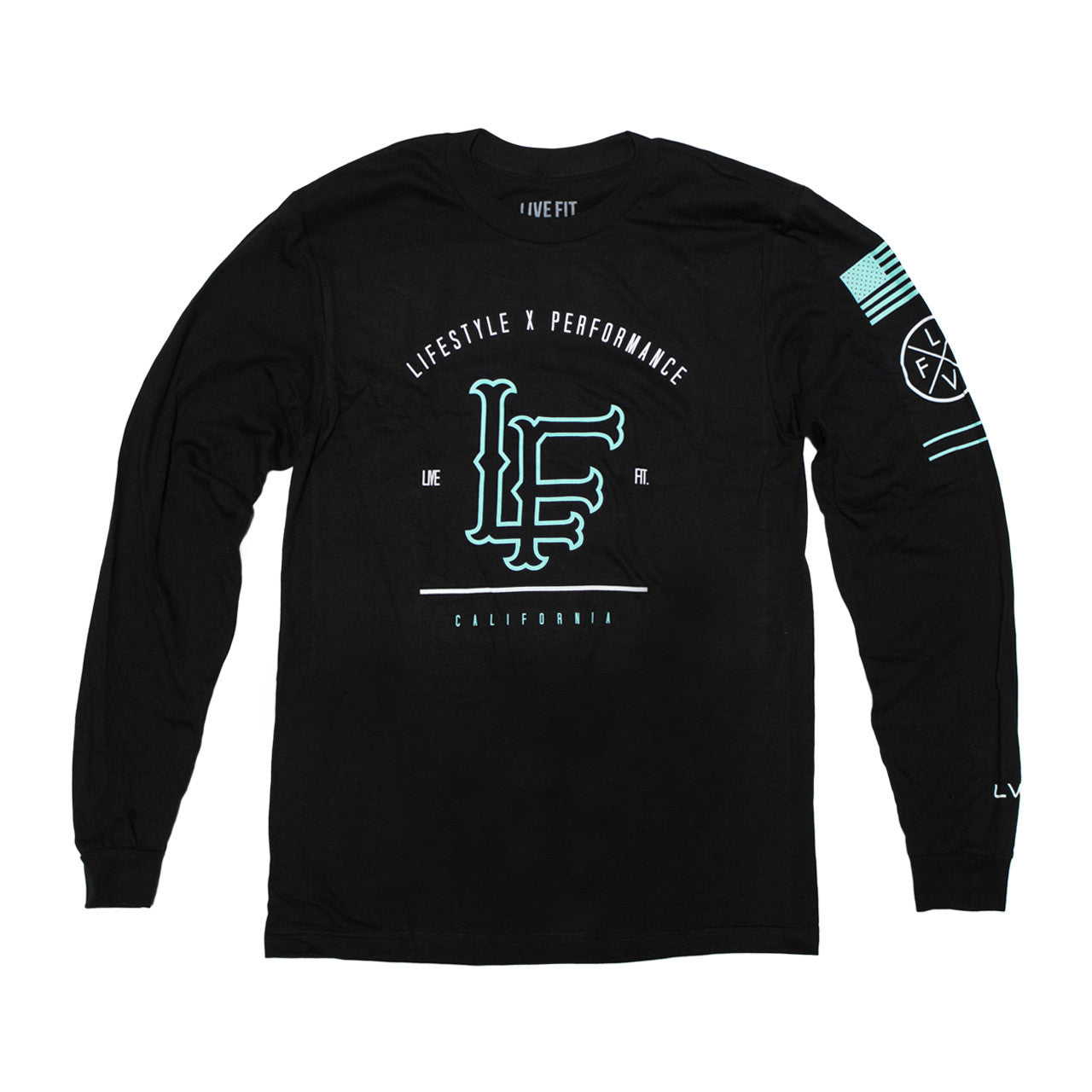 California Long Sleeve- Black