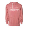 Champion Script Hoodie - Dusty Rose