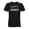Live Fit Apparel Champions Tee - Black - LVFT