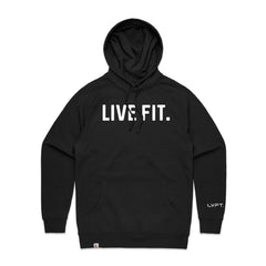 Live Fit Apparel Classic Live Fit Hoodie - Black - LVFT