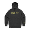 Live Fit Apparel Classic Live Fit Hoodie - Charcoal Heather - LVFT.