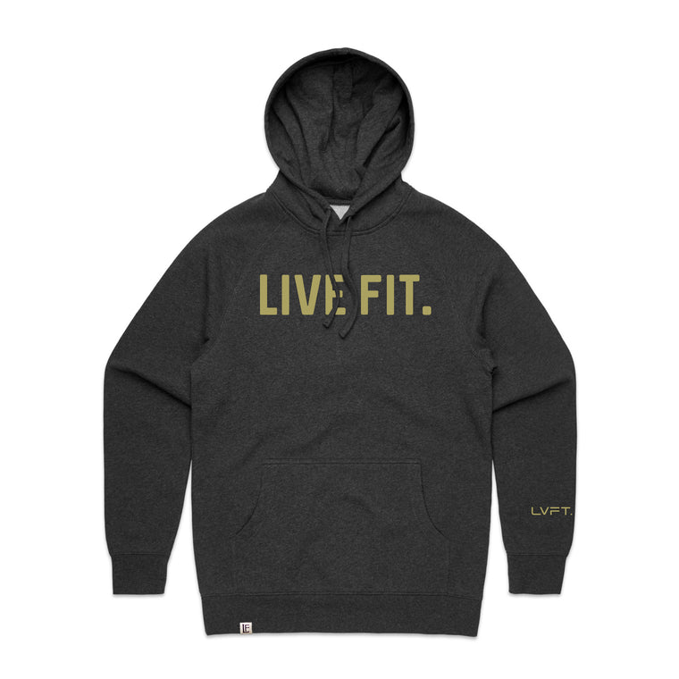 Classic Live Fit Hoodie - Charcoal Heather