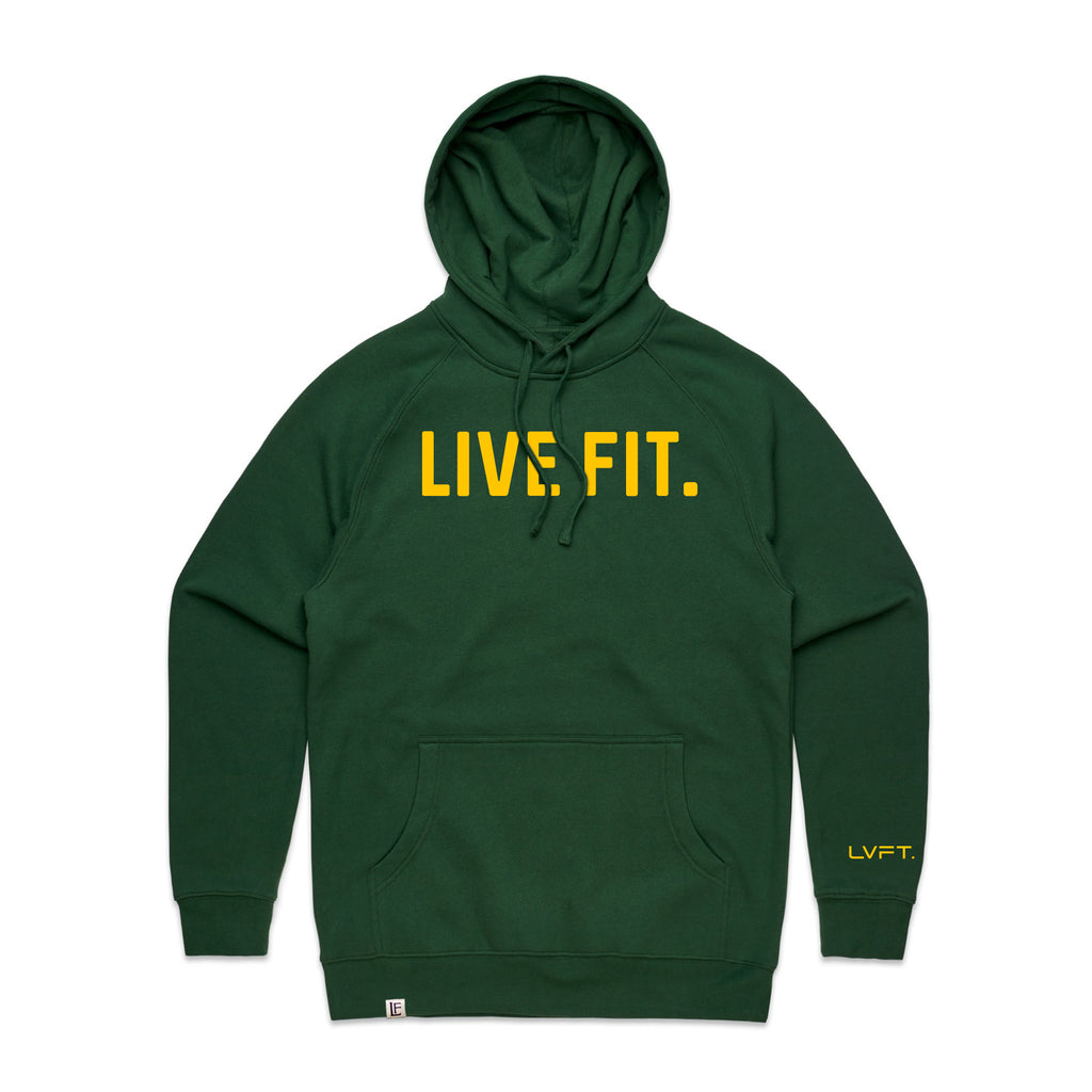 Classic Live Fit Hoodie - Green