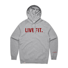Classic Live Fit Hoodie - Heather Grey