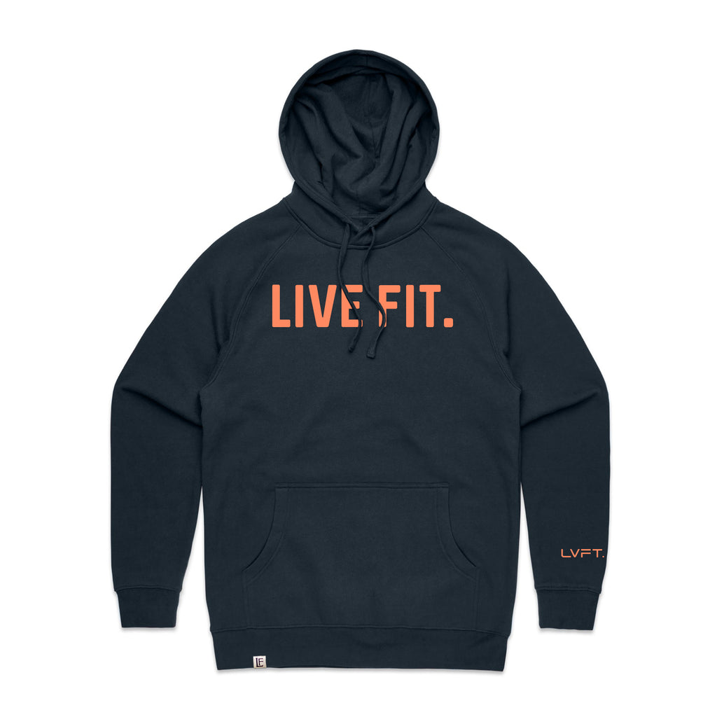 Classic Live Fit Hoodie - Navy