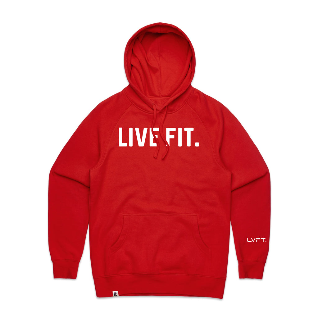 Classic Live Fit Hoodie - Red