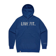 Classic Live Fit Hoodie - Royal Blue