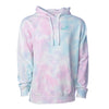 Cotton Candy Hoodie - Teal