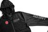 Covert Full Zip Windbreaker- Black