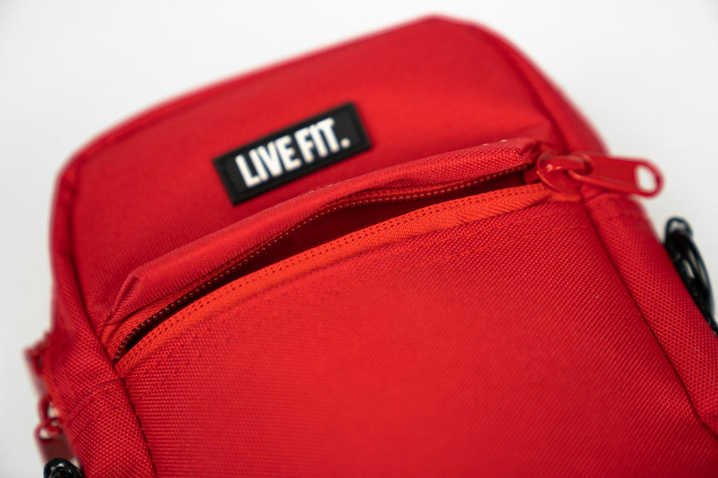 Live Fit Crossbody Bag - Red