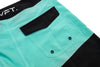 Signature Pro Boardshorts - Black / Teal