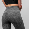 Seamless Micro Rib Leggings - Grey