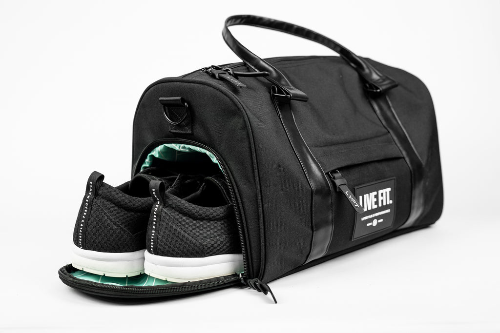 Mini Vector Duffel Bag - Black