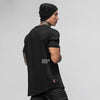 Stealth Long Body Tee - Black