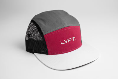 Original 5 panel Cap - Multi Color Maroon