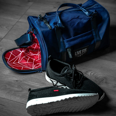 Mini Vector Duffel Bag - Navy