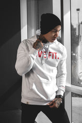 Classic Live Fit Hoodie - White