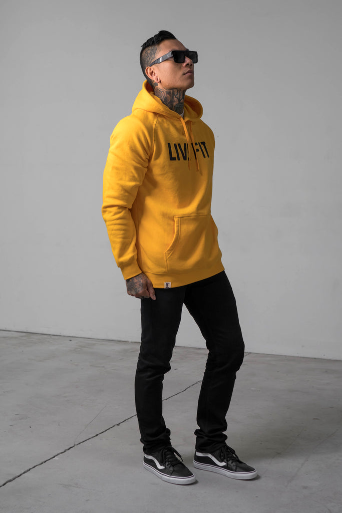 Classic Live Fit Hoodie - Gold