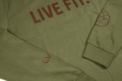 Everyday Long Sleeve  - Olive
