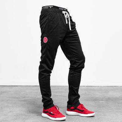 Slim Trackies - Black/Black