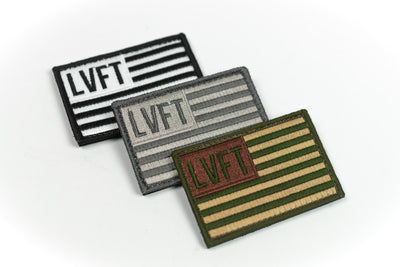 BUNDLE LVFT Flag Patch